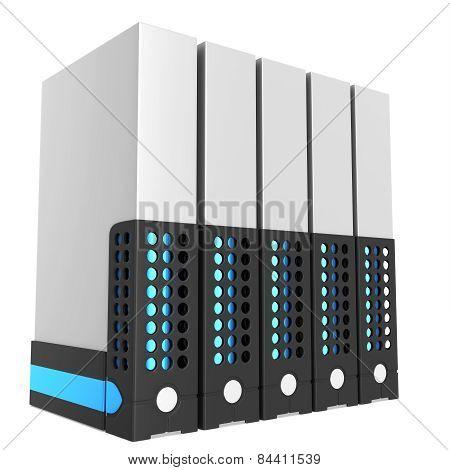 3D Server Blade Units