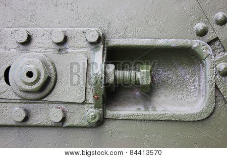 Old Metal Tank