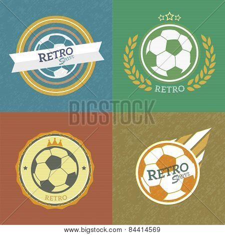 Retro Soccer Emblems