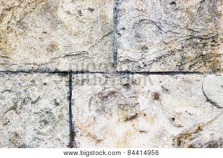 Old Decorative Wall Stucco