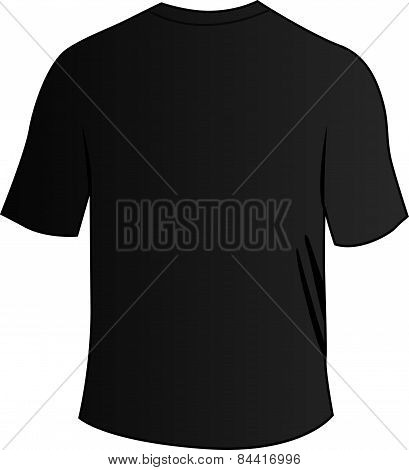 Black Back Tee Shirt