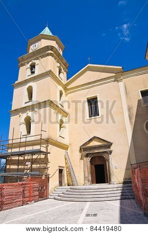 Mother Church of Viggianello. Basilicata. Southern Italy.