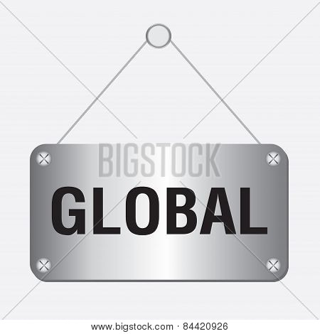 silver metallic global