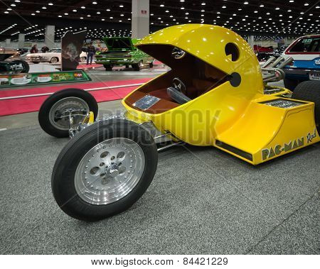 1982 Pac-Man (Pacman) Hot Rod