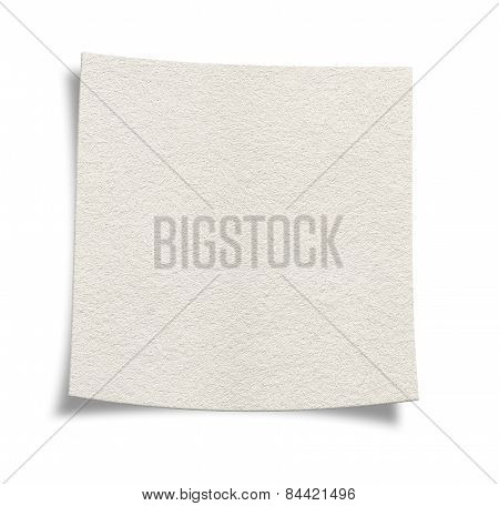 Blank Textured White Paper