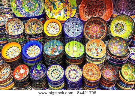 Handmade Traditional Iznik Pottery