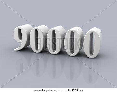 Number 90000