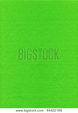 Green Felt Surface