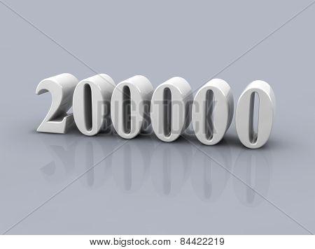 Number 200000