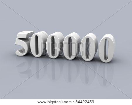 Number 500000