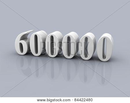 Number 600000