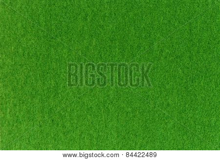 Green Synthetic Grass For Model.