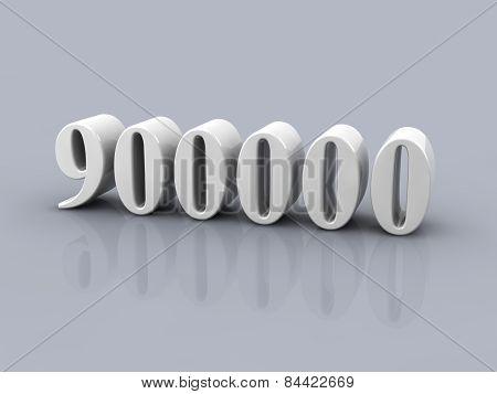 Number 900000