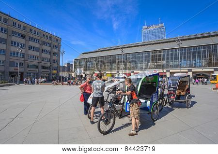 Alexanderplaz Square at Berlin Germany