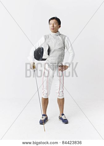 Male Fencer