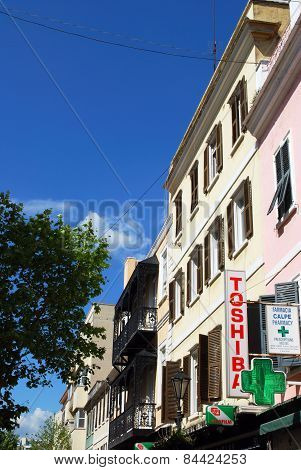Main Street shops, Gibraltar.