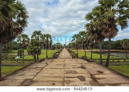 Angkor Wat Temple at Siem Reap Cambodia