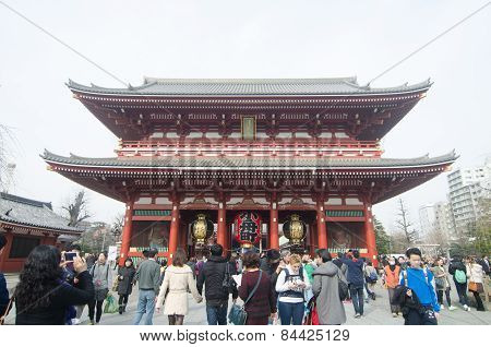 The Kaminarimon (thunder Gate)