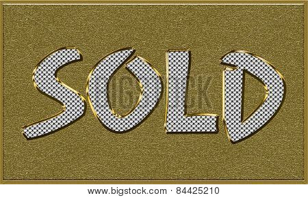 Item Sold Tag