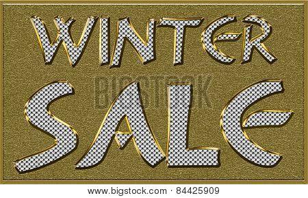 Winter Sales Seasonal Tag