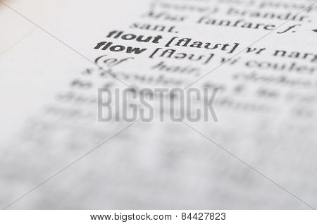 Macro Of Dictionary At Word Flow