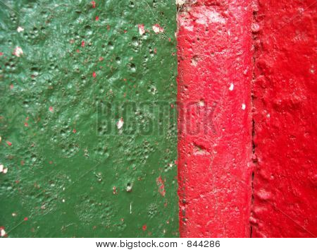 bright green and red texture