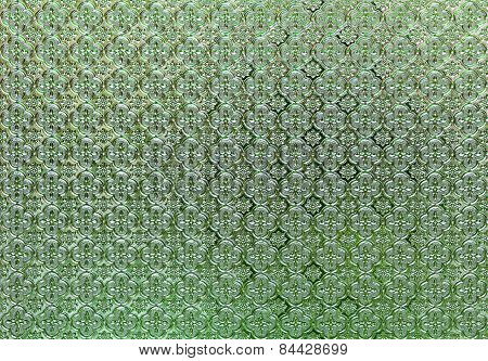 Flower Pattern Glass