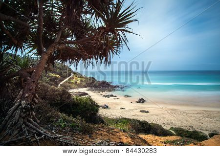Beach on the South coast of New South Wales at sun rise