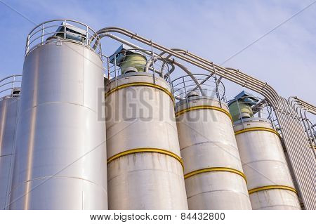 Chemical Plant, Containers