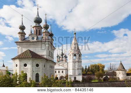 Monastery Of The Archangel Michael In City Yuriev-polskiy