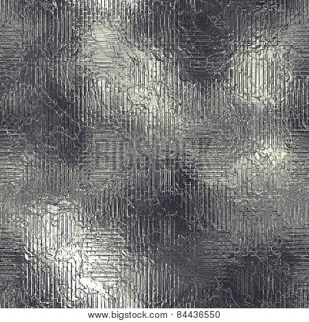 Aluminum Foil Seamless and Tileable Texture