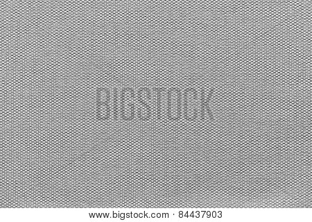 Interlacing Texture Fabric Of Gray Color
