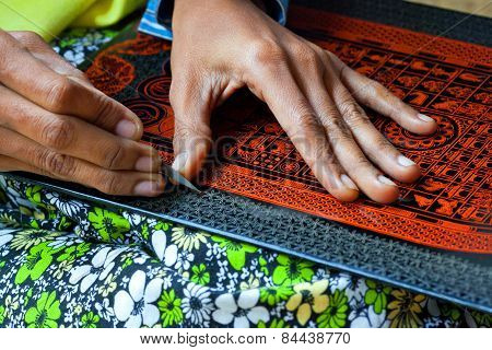 Lacquerware Factory, Myanmar