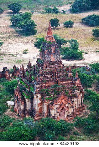 Ancient Pagoda In Bagan, Myanmar