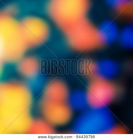 Very Bright Defocused Abstract Texture Background