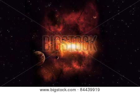 Distant Imaginary Nebula