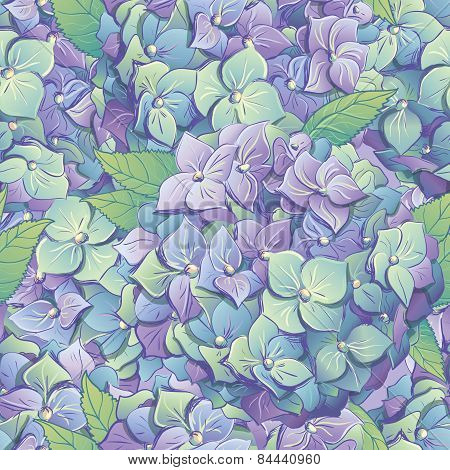 Seamless Floral Background. Vector Illustration