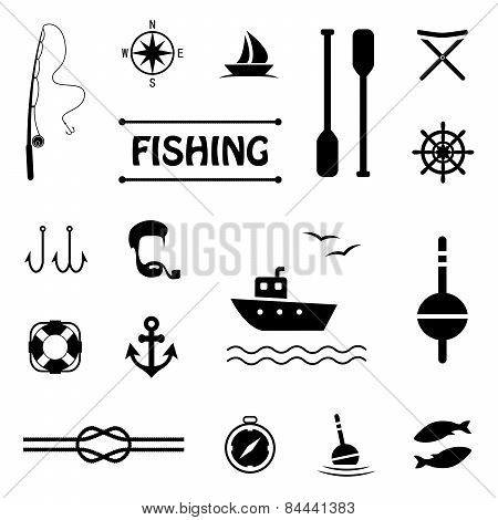 icons, fishing