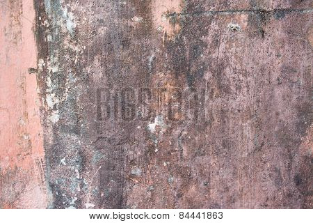 Street aged cement old wrecked rusty rough grunge stone wall texture background