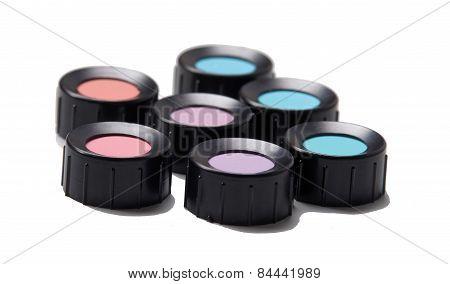 Color Shades, Blue, Purple, Blue, Violet, Red, Cyan