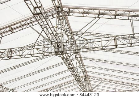 Structure Of Modern Building Roof