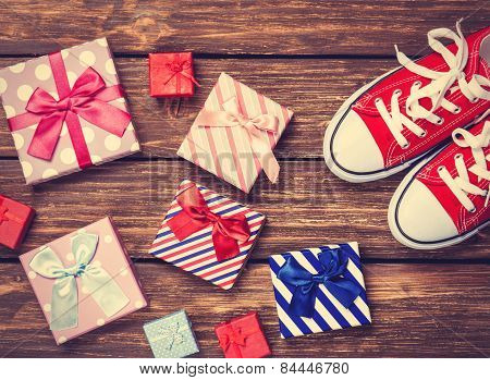 Gift Boxes And Gumshoes
