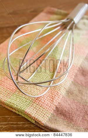 Wire Whisk And Cloth