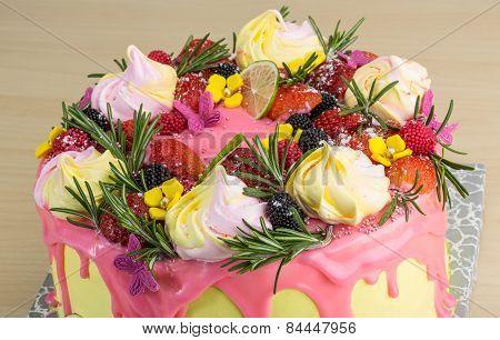 Cake Woth Meringue
