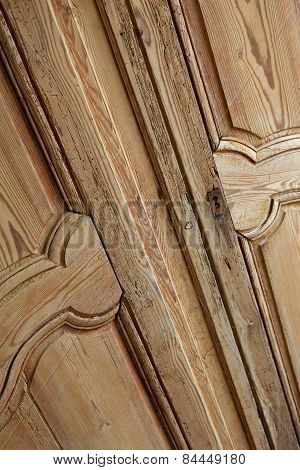 Pine Wood Cupboard