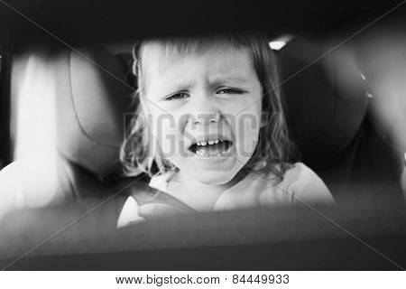 Tears In Car