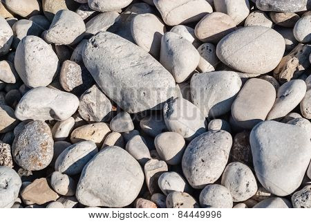 Light Rounded Stone Background