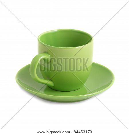 Green Teacup