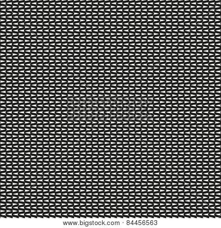 Seamless Zig Zag Black Pattern