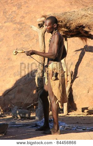 Damara Man, Namibia